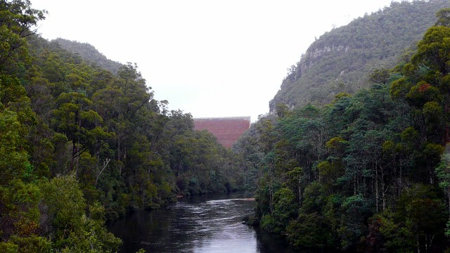 Cethna Dam