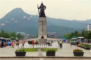 Admiral Yi Sun Sin Statue