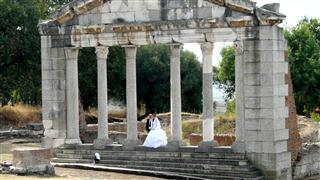 Wedding at Apollonia
