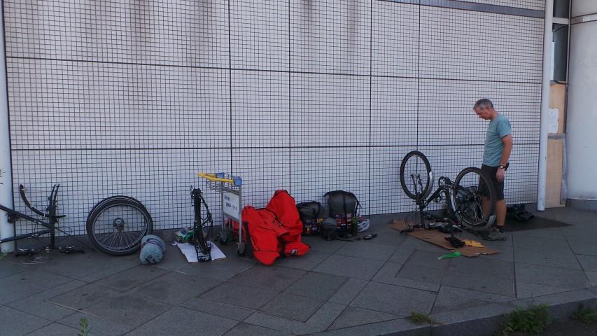 Assembling the Bikes