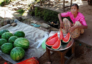 Water Melon Seller