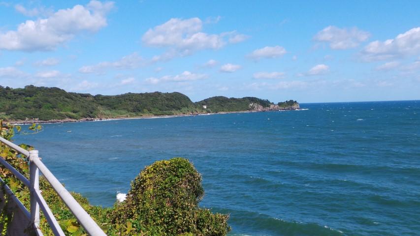 Coastal views leaving Karatsu