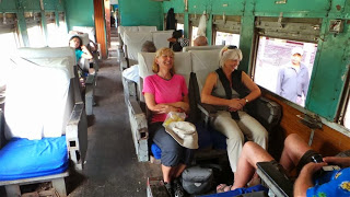 Burma Railways First Class carriage