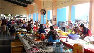 Ha Tien Fish Market