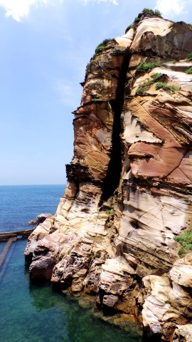 Huang Gang Biang - Wave Formed Rocks