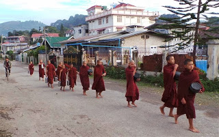 Boy Monks at Kalaw