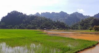 View from Lakkana village