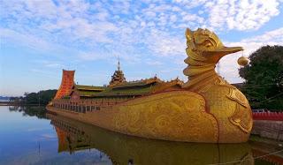 Floating Pagoda at Meiktila