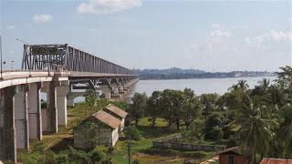 Bridge over the Thanlwin River