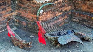 Traditional Burmese Harps