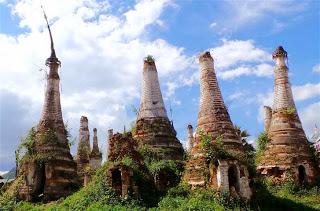 Ruined Stupas