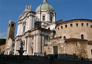 Old and New Cathedrals Brescia