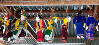 Traditional Burmese Puppets