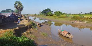 River Scene From Moulmein Road
