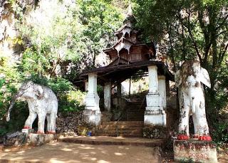Cave entrance gate