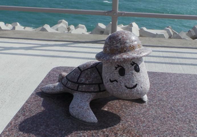 Sea Wall Sculpture