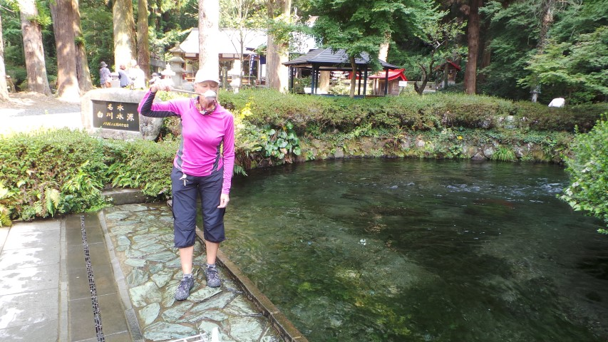 Taking the Waters - Shirakawa Spring