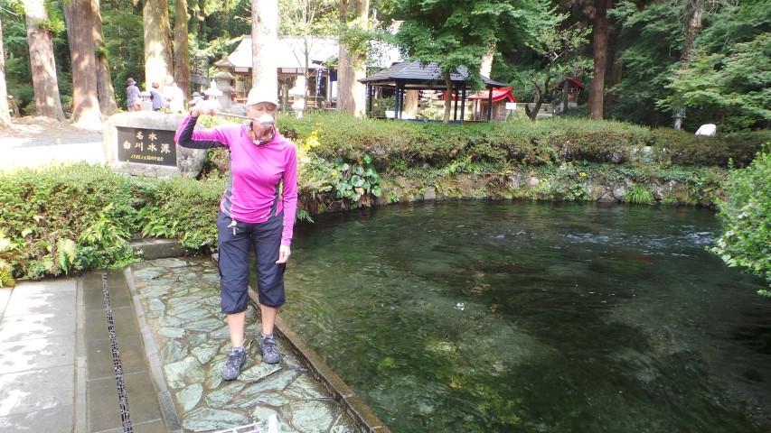 Taking the Waters - Shirakawa Spring