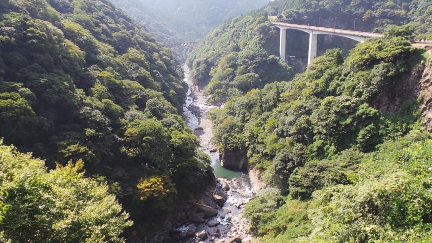 Shirakawa Gorge