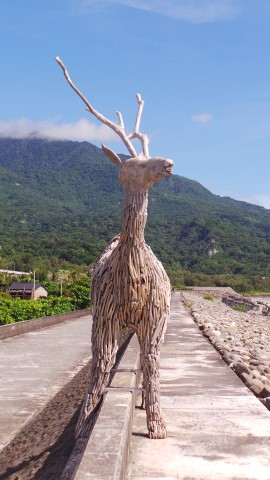 Shiti - Deer Sculpture