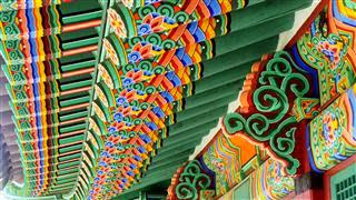 Deoksugung Palace roof detail