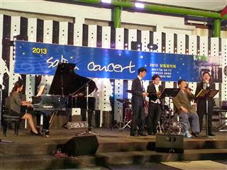 Open air concert in Jeonju