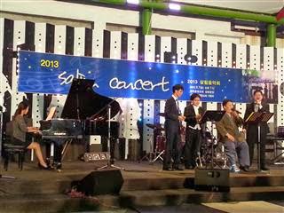 Open air concert in Jeonju