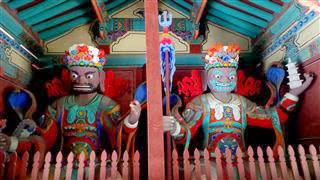 Naejang Gateway Figures