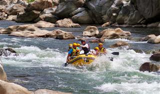 White Water Rafting - River Naerincheon