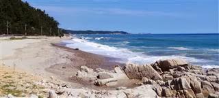 Beautiful Coast at Sanpo-Ri