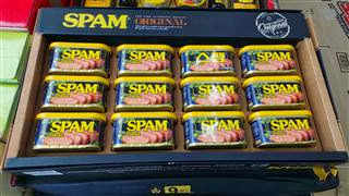 Spam Spam Spam Spam Spam Spam Spam Spam lovely Spam, wonderful Spam...