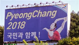 Winter Olympics Billboard