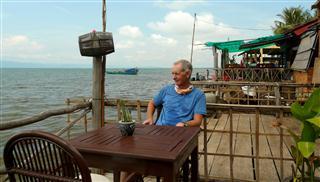 Steve_at_crab_market_cafe