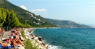 Sunbathing Trieste
