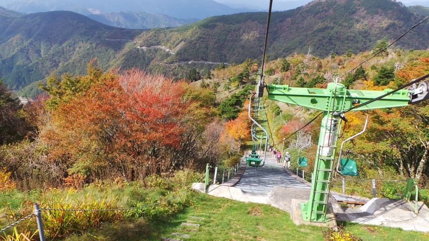 Mount Tsurugi Chair Lift