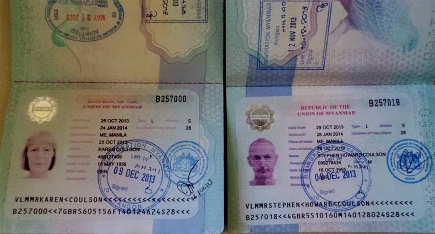 Our Visas are Finally Ready