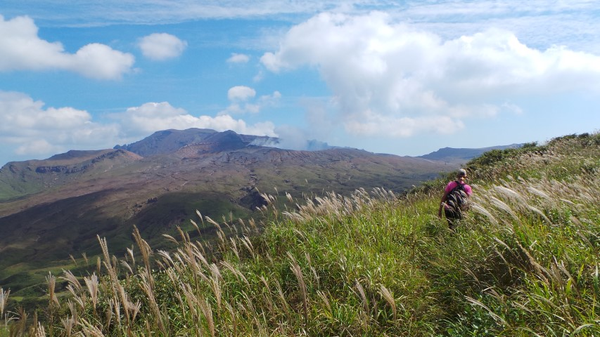 Walking The Crater Rim
