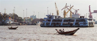 Yangon Harbour