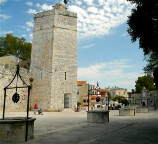 Zadar - Five Wells Square