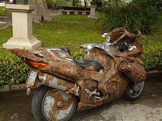 ar Mad Max Motorbike