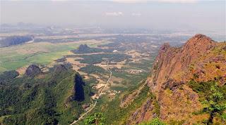 View from the top of Mt. Zwegabin