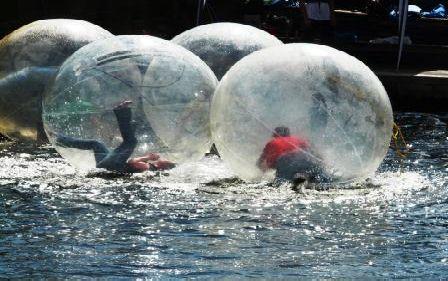 Water Games in Albert Dock Liverpool