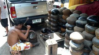 Ban Baht Making Monks Bowls