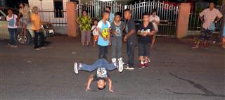 Break Dancing - Krabi Night Market