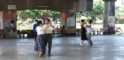 Ballroom Under the Bridge by the Side of the River