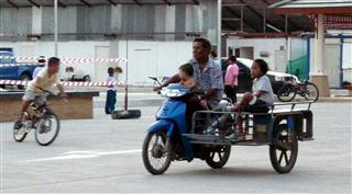 Motor Bike and Sidecar