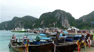 Ko Phi Phi Harbour