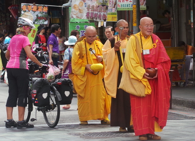 Begging Monks