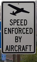 Speed Controlled by Aircraft