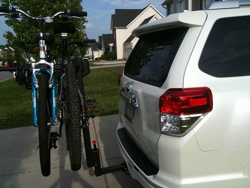 SUV Bike Rack